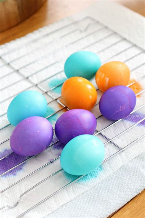 color easter eggs how to dye easter eggs and get vibrant colors