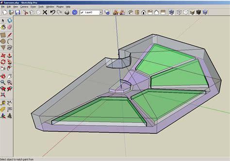 efficient room modeling using sketchup