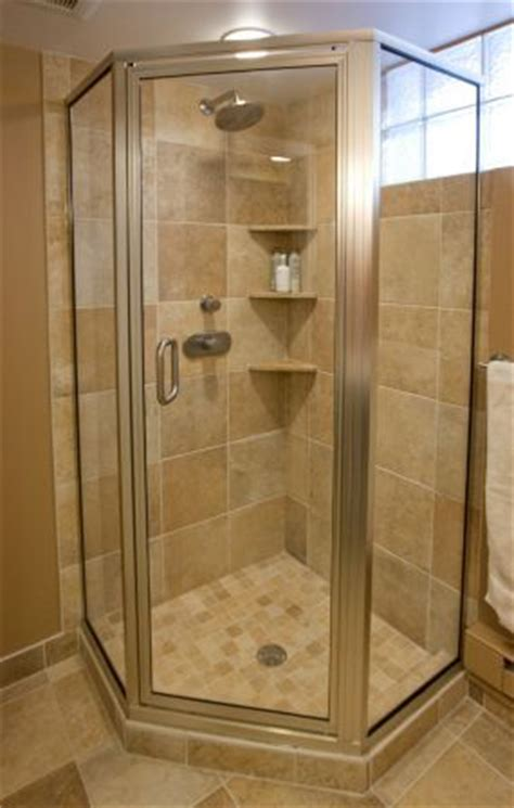 Corner Stand Up Shower Units 25 Best Ideas About Corner Showers On Small