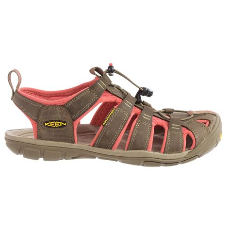 sport sandals womens keen clearwater cnx leather sport sandals for