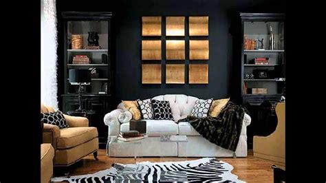 Black White And Gold Living Room - black white and gold living room ideas