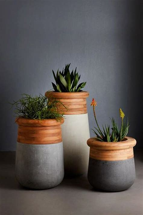 Ideas Design For Cement Planters Concept 15 Diy Concrete Ideas For A Chic Minimal Design