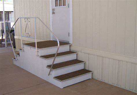 metal stairs for mobile homes mobile homes ideas