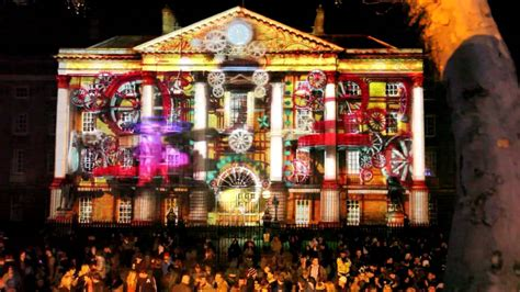 new year parade dublin new year s 2012 dublin college 3d mapping