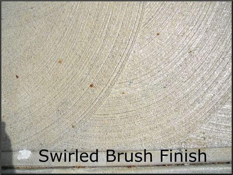 swirl brush finish concrete   Remodel   Pinterest