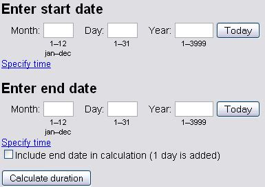 calculator number of days free online and offline date calculator software web