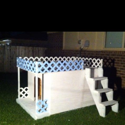 elegant  story dog house plans  home plans design