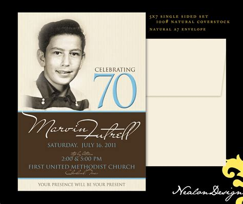 70th birthday invitations templates free nealon design 70th birthday invitation
