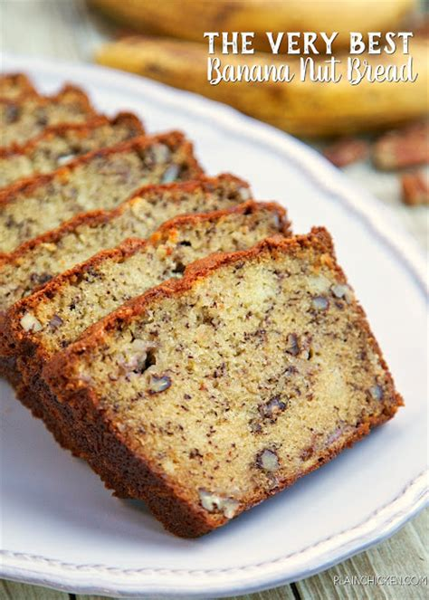 best banana nut bread the best banana nut bread plain chicken