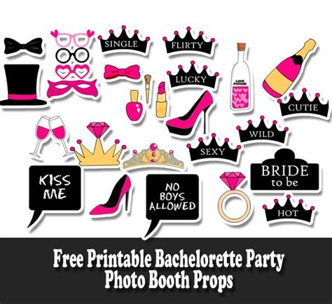 printable photo booth quotes free printable bachelorette party photo booth props