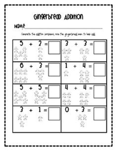 gingerbread math worksheets 1000 images about gingerbread on gingerbread gingerbread and kindergarten