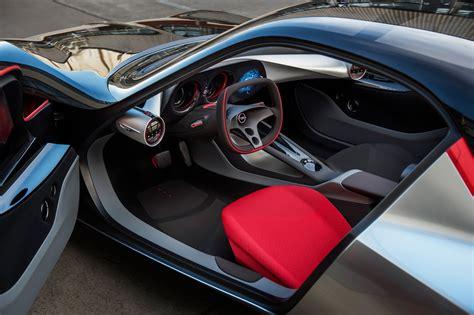 Opel Gt Interior opel gt concept interior revealed photos 1 of 18