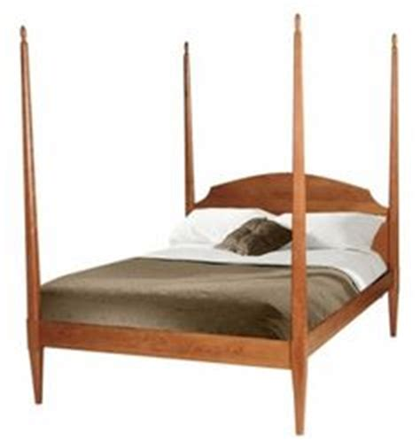 classic shaker pencil post bed with optional padded pencil post bed with canopy platform bed solid wood