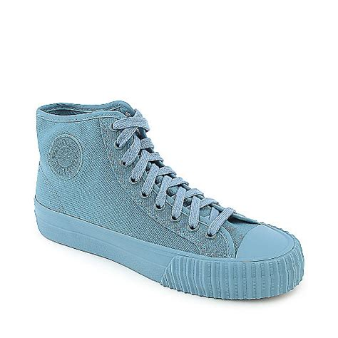 pf flyers basketball shoes pf flyers center hi reissue mens blue athletic lifestyle