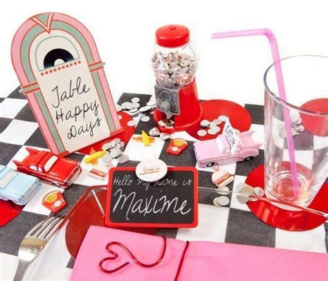 Deco De Table Americaine by Decoration De Table Americaine