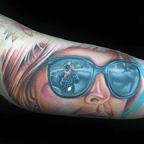 sunglasses tattoo designs 100 memorial tattoos for timeless tribute design ideas