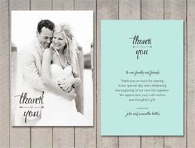 wedding thank you photo cards 21 wedding thank you cards free printable psd eps