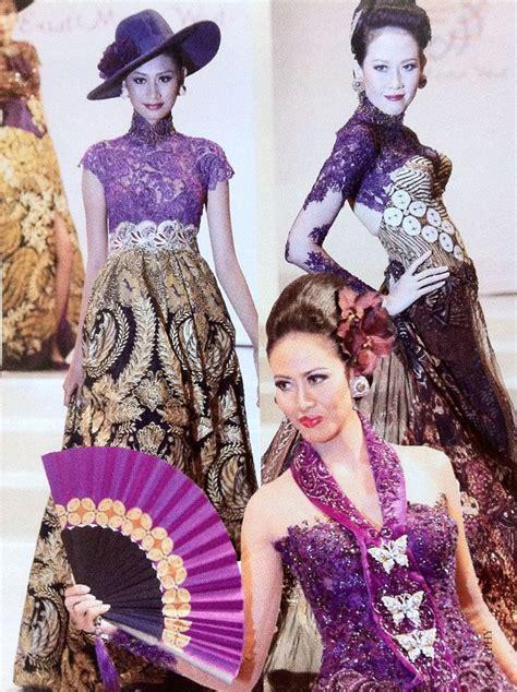 Kebaya Modern Batik 1000 images about kebaya on kebaya indonesia and kebaya lace