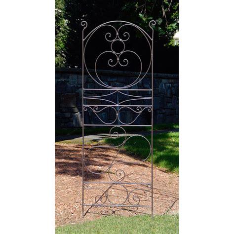 Wrought Iron Trellis Designs ferro firenze wrought iron trellis i achla designs trellises gardening outdoor