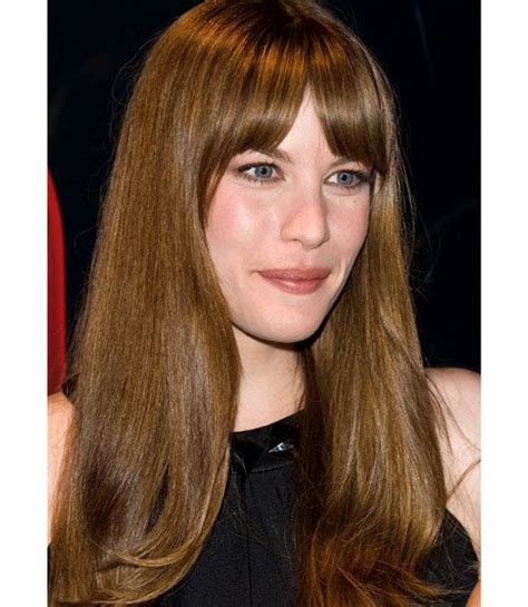 liv tyler hairstyles for narrow face shapes 173 best images about liv tyler