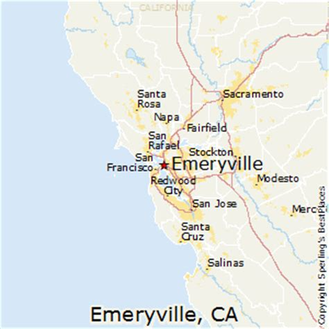 california map emeryville best places to live in emeryville california