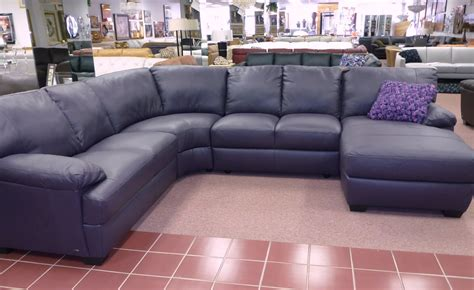 purple leather sofa natuzzi by interior concepts furniture 187 natuzzi leather