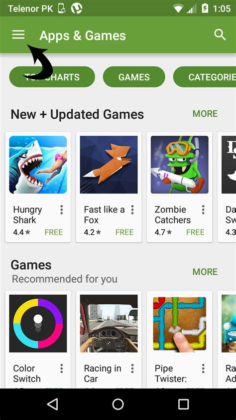 how to enable parental controls on play store