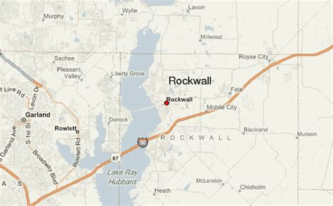 rockwall texas map rockwall location guide