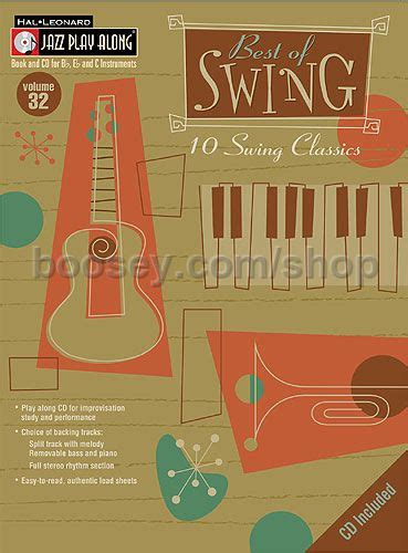 best of swing music various jazz play along 32 best of swing jazz play