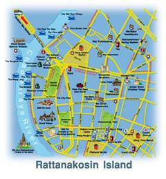 bangkok map tourist attractions about bts bangkok thailand airport map location map of