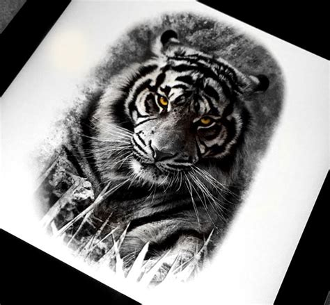 black and grey tiger tattoo designs best 25 tiger design ideas on tiger