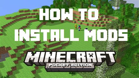 mods in minecraft how to install how to install minecraft pe mods script mods 0 8 1