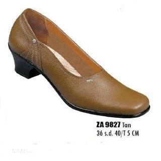Sandal Kulit Hak 3cm sepatu pantofel wanita za 9827 sepatu sandal