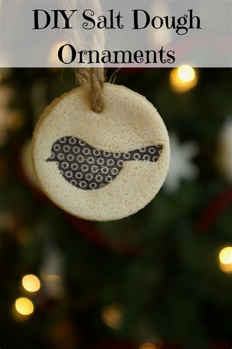 diy salt dough ornaments 100 days of homemade holiday