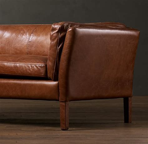 Fancy Sorensen Leather Sofas