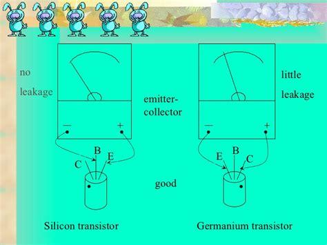 germanium transistor base emitter voltage transistors