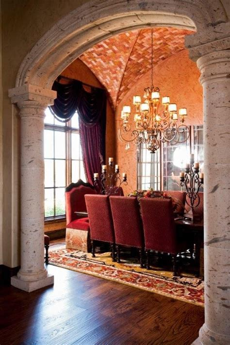 mediterranean style furniture mediterranean dining room and foyer ideas home deco 1 mediterranean style homes home and design firms on pinterest