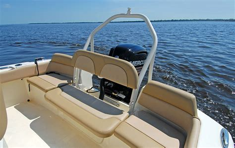 scout boats seats scout 195 sportfish review boat