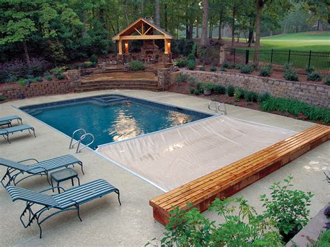 covered swimming pool covers for existing pools cover pools