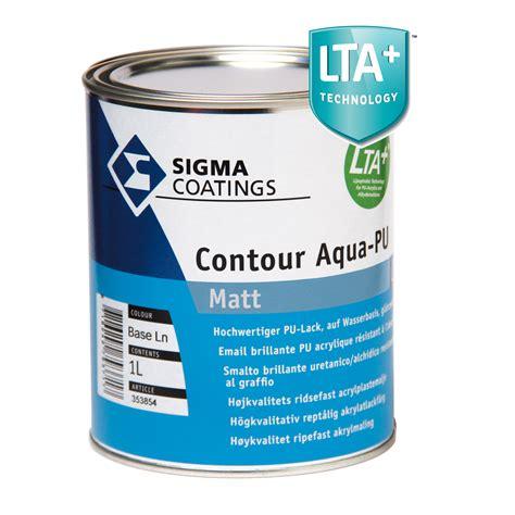 pu matt contour aqua pu matt smalti all acqua sigma coatings