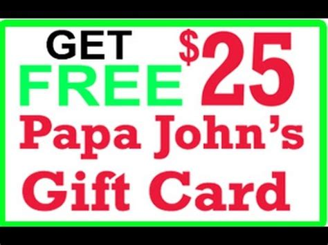 Free Papa John S Gift Card - free papa john s gift card chicago vs new york pizza what sbetter youtube