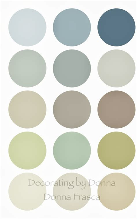 Color Palettes For Home Interior by Benjamin Moore Just Has The Best Colors For A Coastal