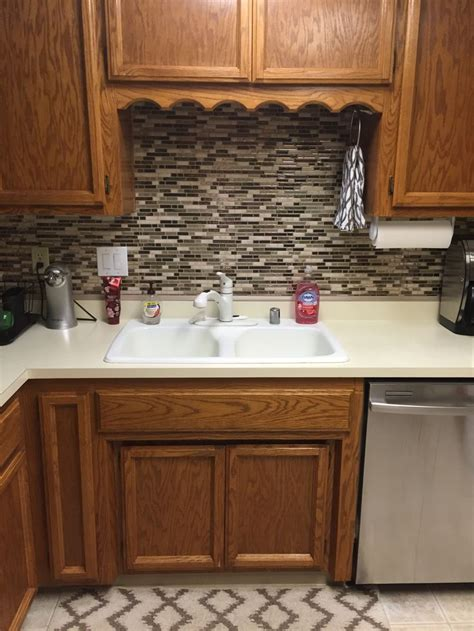 Vinyl Kitchen Backsplash Top 25 Ideas About Vinyl Tile Backsplash On Herringbone How To Lay Tile And