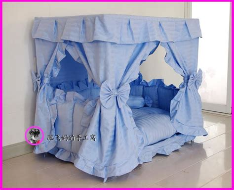Handmade Cat Beds - gorgeous handmade princess pet cat bed house 1