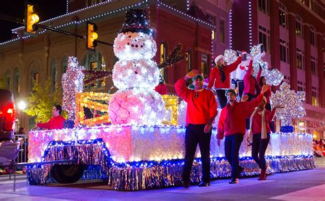 collection of christmas light parade best christmas tree