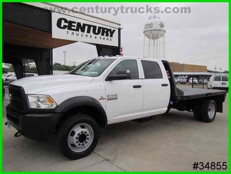 ram 5500 bed ram 5500 4x4 crew cab flat bed 2015 flatbeds rollbacks