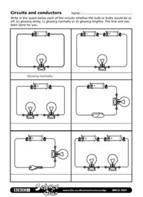 electrical conductors and insulators worksheet 15 best images of drawing circuits worksheet conductors and insulators worksheet 4th series