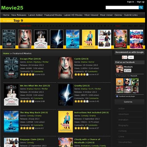 film online watch the top 25 sites to watch free movies and tv shows sites