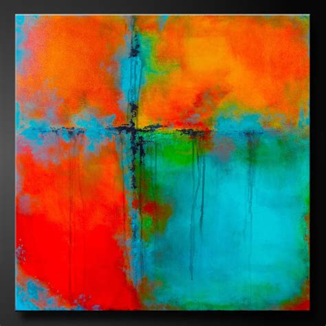 acrylic paint canvas abstract artist of the day charlen williamson destructive testing