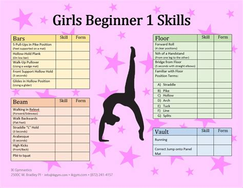 the beginner children and gymnastic classes ik gymnastics